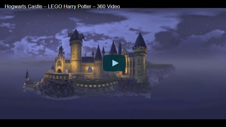 Hogwarts Castle ? LEGO Harry Potter ? 360 Video
